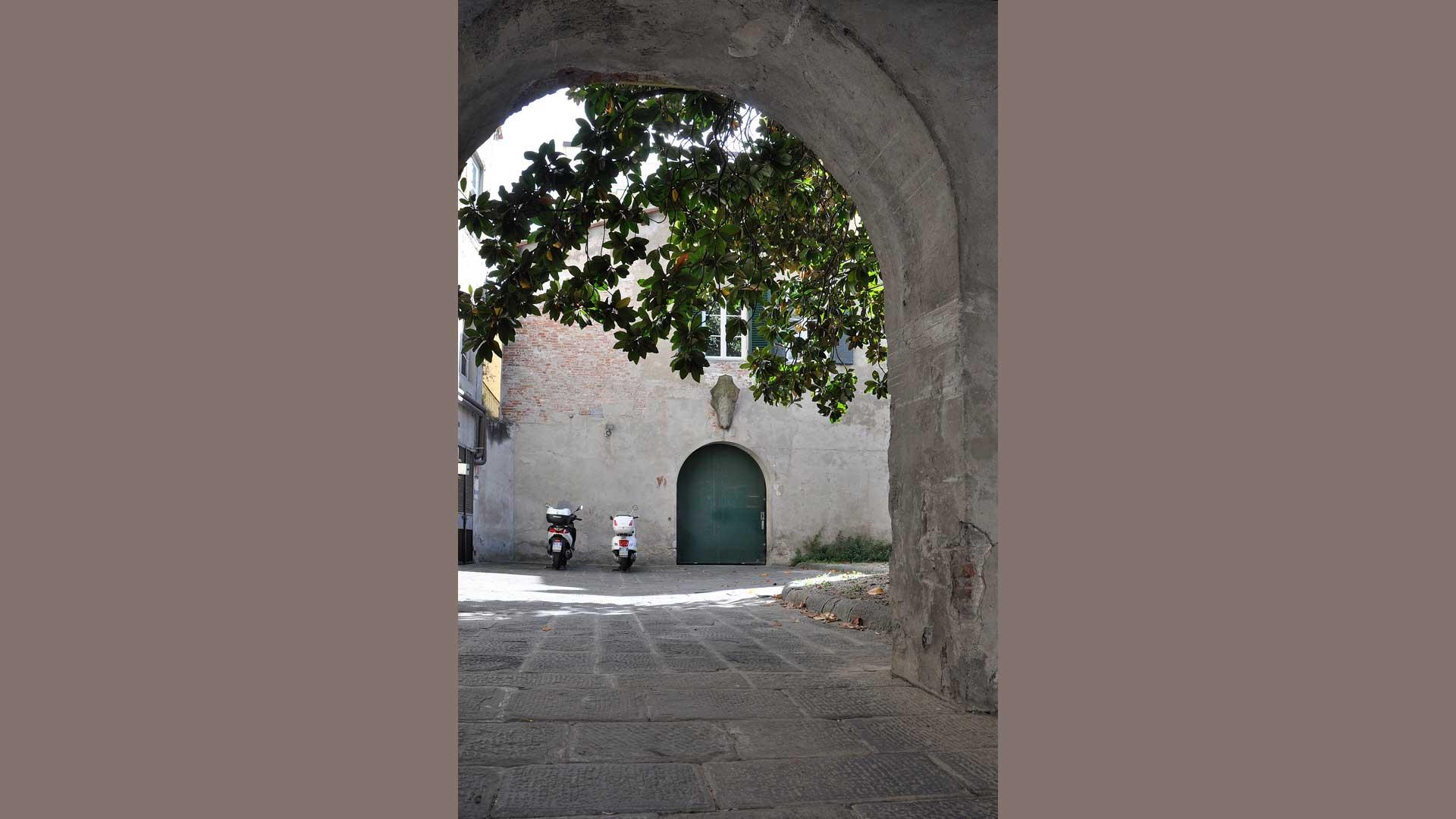Cortile interno di Palazzo Orsetti