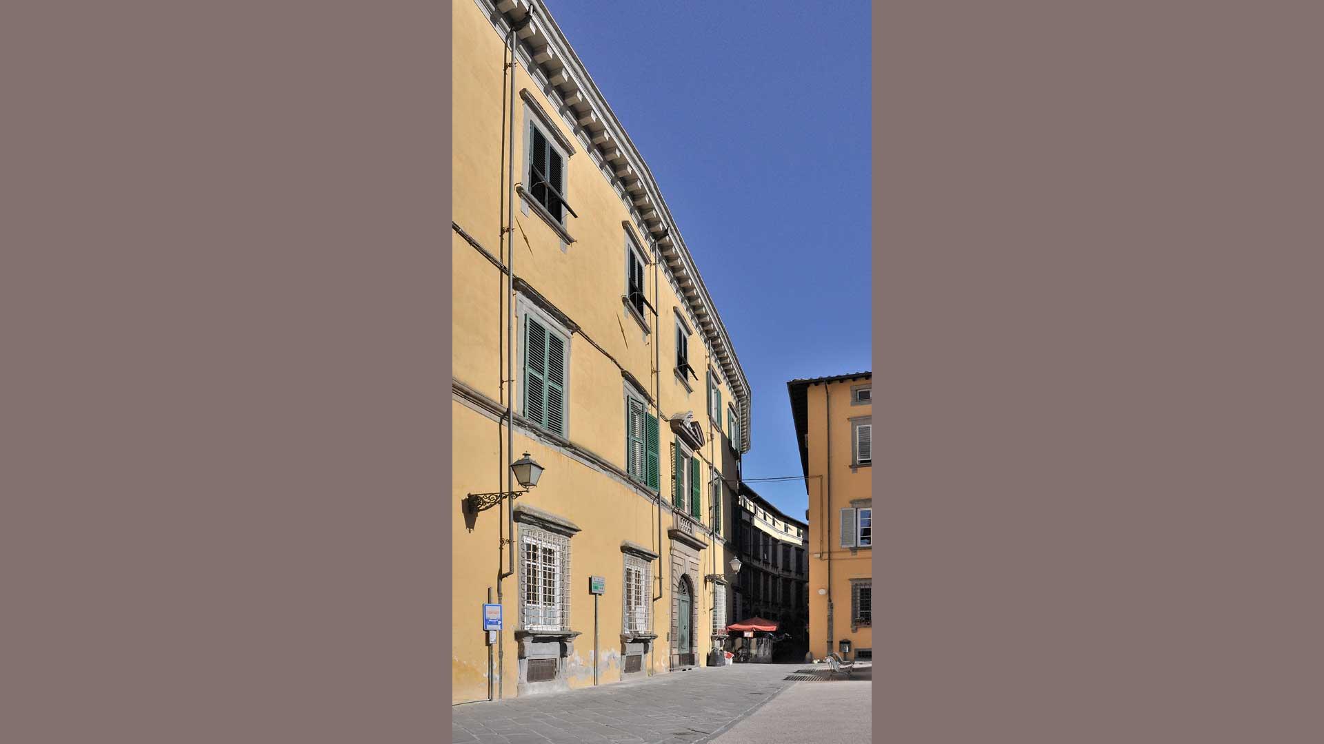 Palazzo Tegrimi, poi Minutoli e Pierantoni