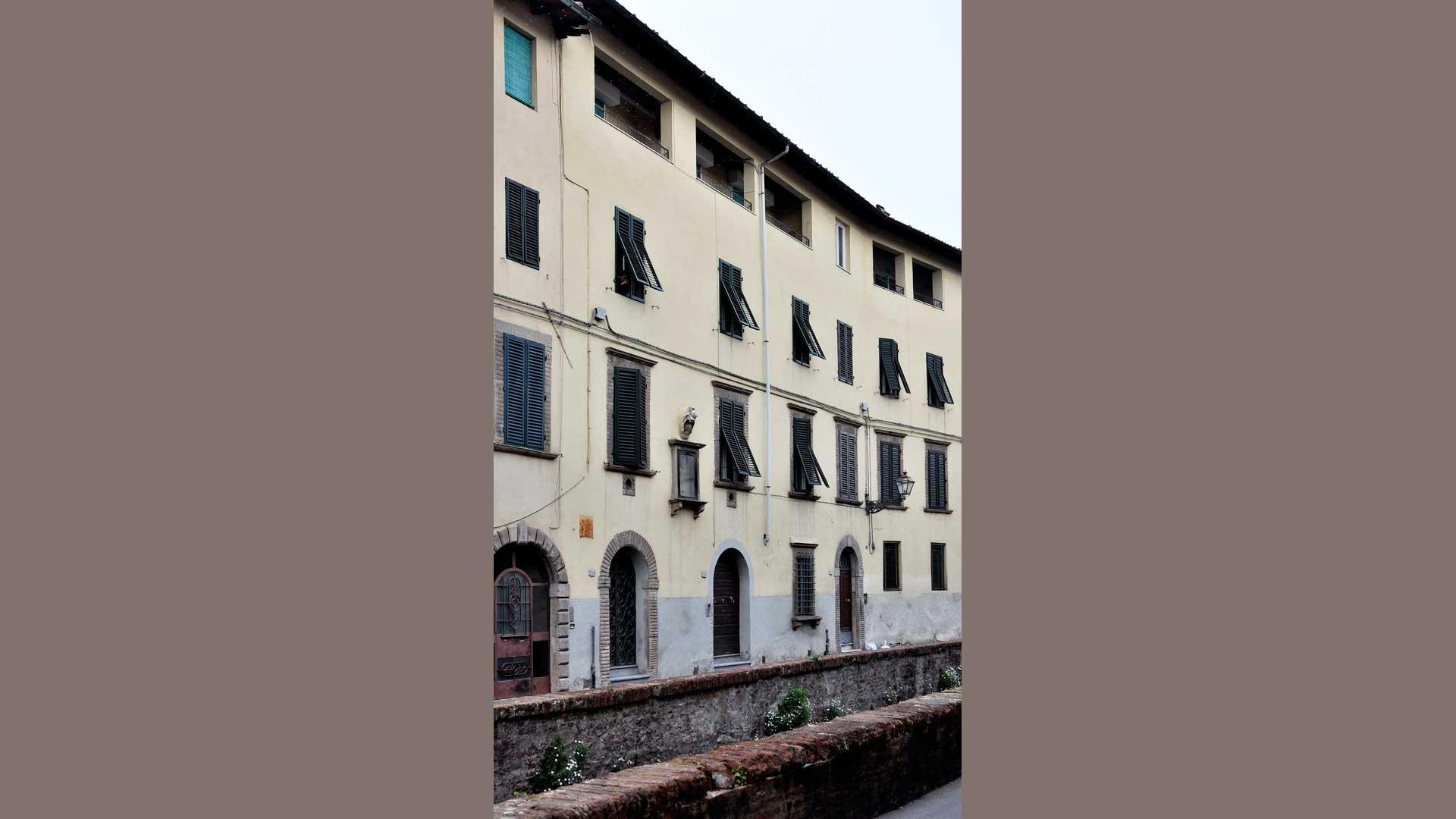 Edificio utilizzato per la lavorazione della seta
